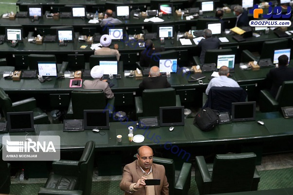 سلفی نماینده مجلس با صحن علنی