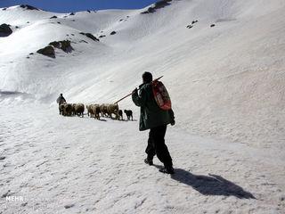 روستایی در ایران که با اولین برف مسدود می شود+ عکس