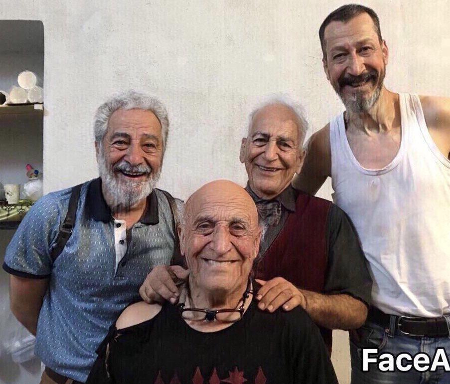 عکسی عجیب از چهره شکسته نوید محمدزاده در روز تولدش