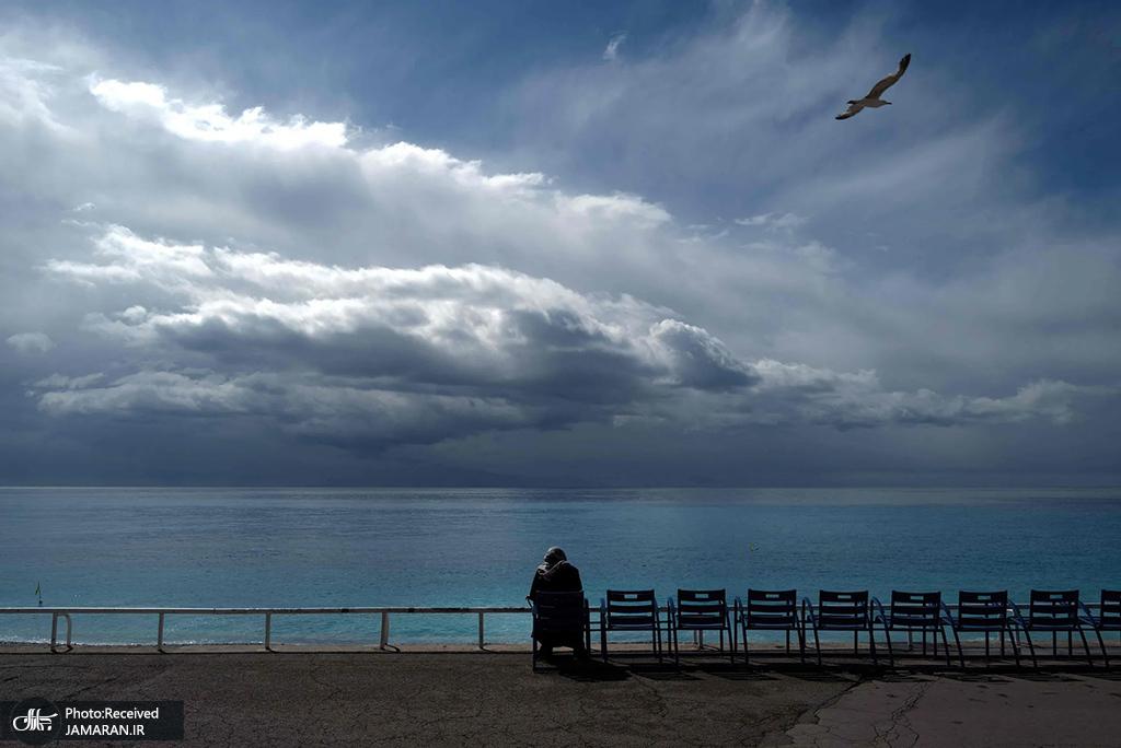 تفرجگاه شهر ساحلی نیس در فرانسه + عکس