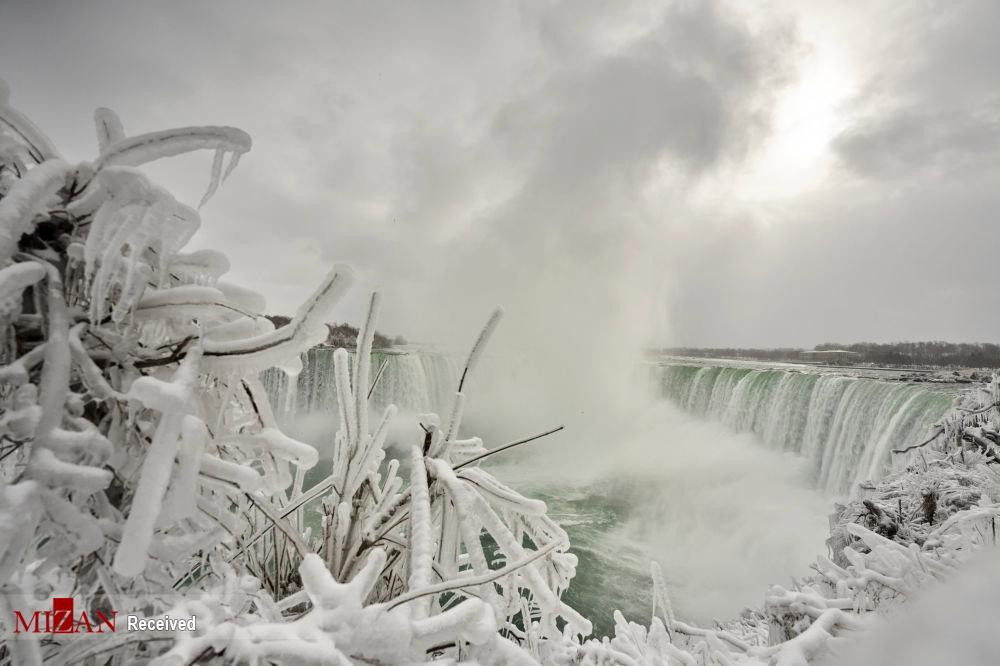 بخارهایی که یخ زدن + عکس