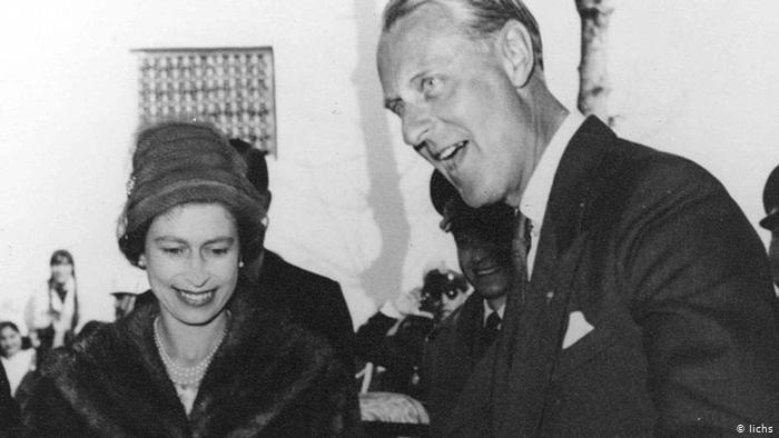 تصاویری تاریخی از خاندانهای سلطنتی ایران و بریتانیا