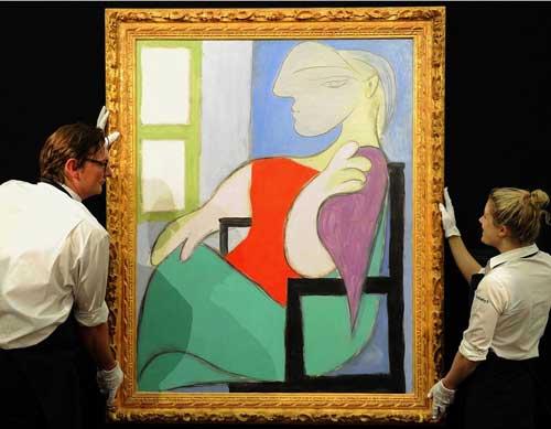 تابلوی پیکاسو در انتظار فروش ۵۵ میلیون دلاری