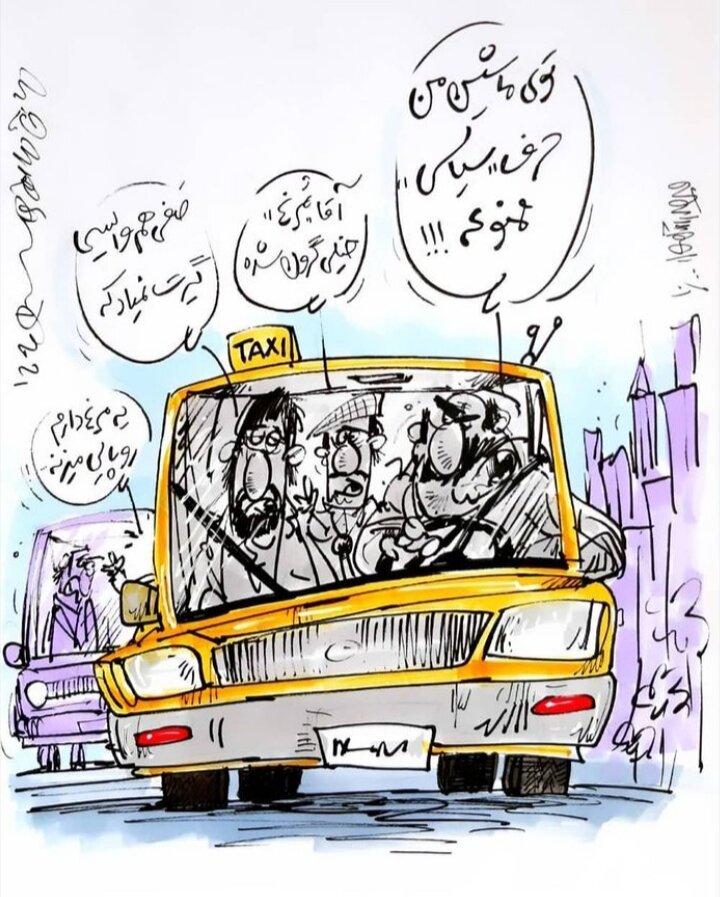 مرغ هم سیاسی شد + عکس