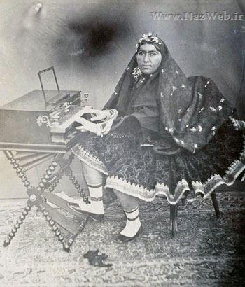 زن زشت و معروفی که از فراق ناصر الدین شاه دق کرد