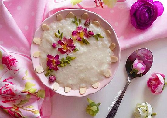 با این شیربرنج خانگی افطار کنید
