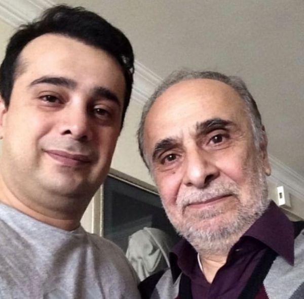 سپند امیرسلیمانی در کنار پدرش + عکس