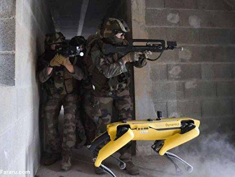 رباتهای جنگی در ارتش فرانسه