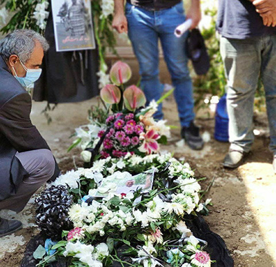 پیکر نادر دستنشان به خاک سپرده شد