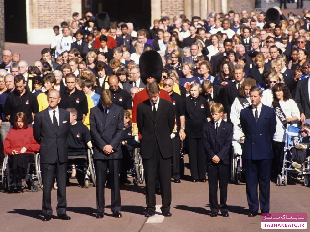 مقایسه تشییع جنازه شاهزاده فیلیپ و دیگر تشییع جنازههای سلطنتی