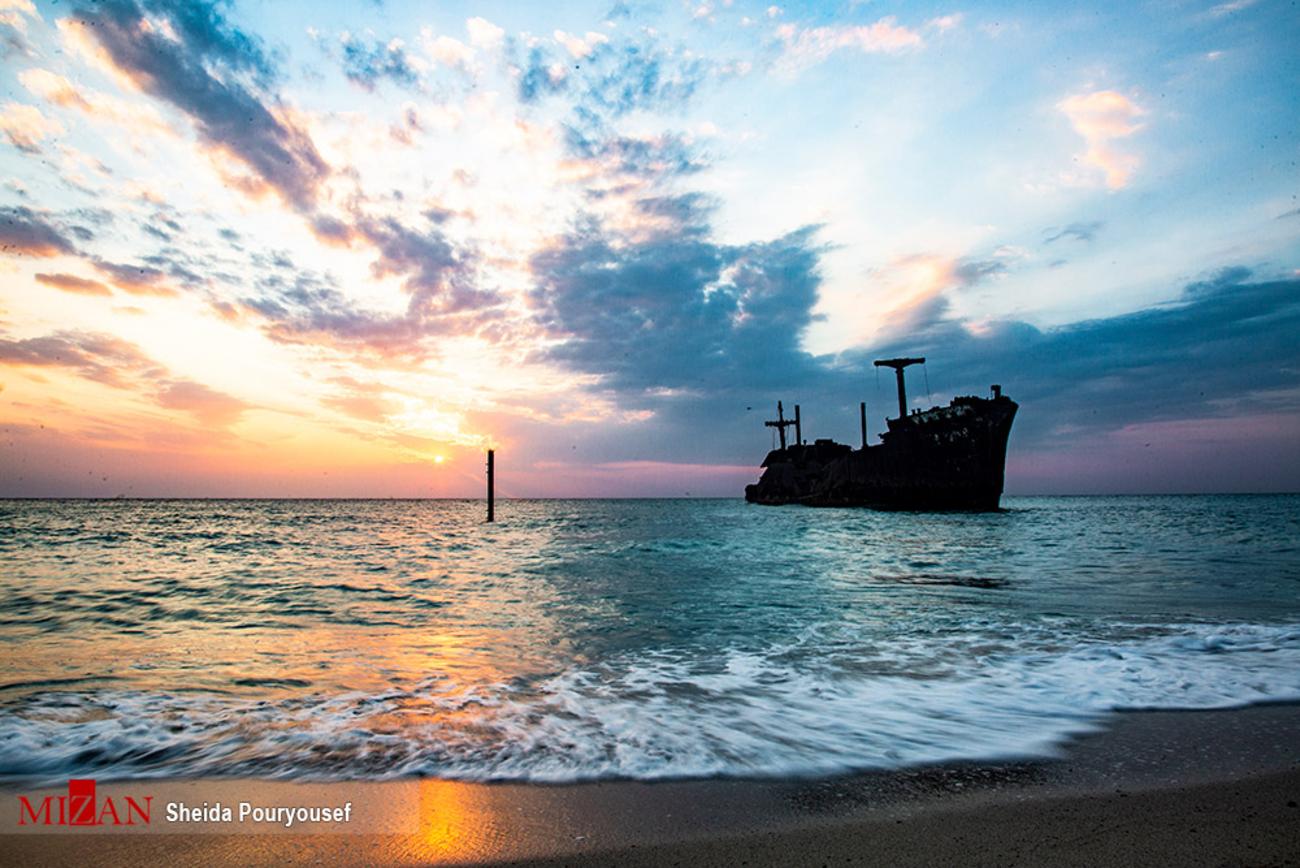آبی بیکران خلیج فارس + عکس