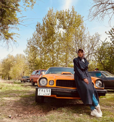 تیپ دهه شصتی آناهیتا درگاهی+عکس