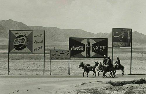 عکسی دیدهنشده از ورودی شهر مشهد