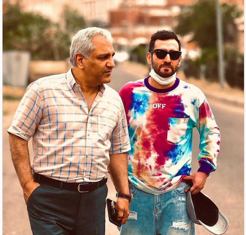 عکس جدید و عجیب مهران مدیری