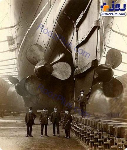 عکس یادگاری دیدنی از مهندسان سازنده کشتی تایتانیک