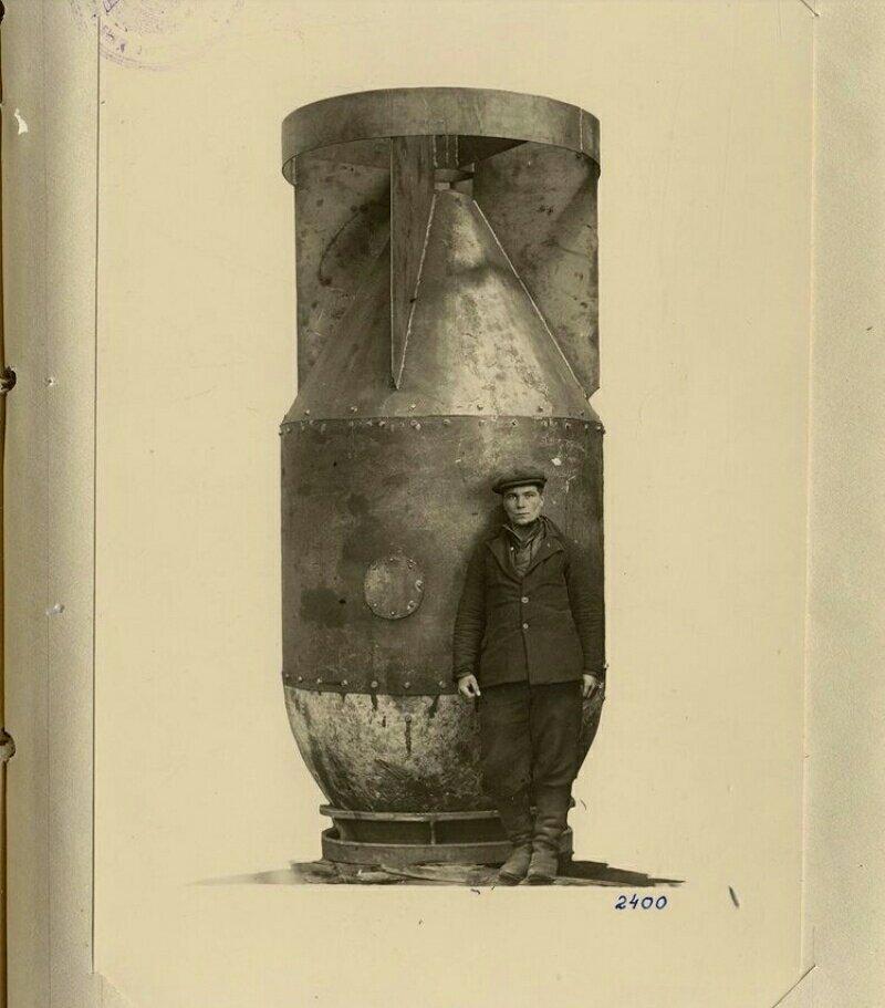 بدنهی نخستین بمب اتمی شوروی + عکس
