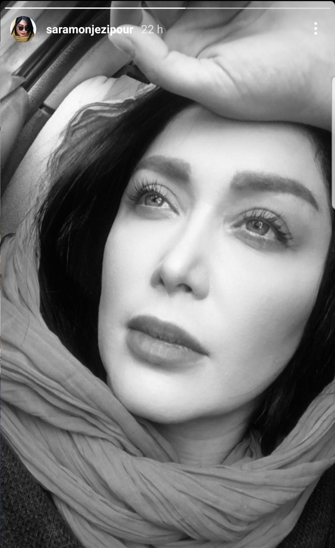 سیاه و سفید با سارا منجزی پور + عکس