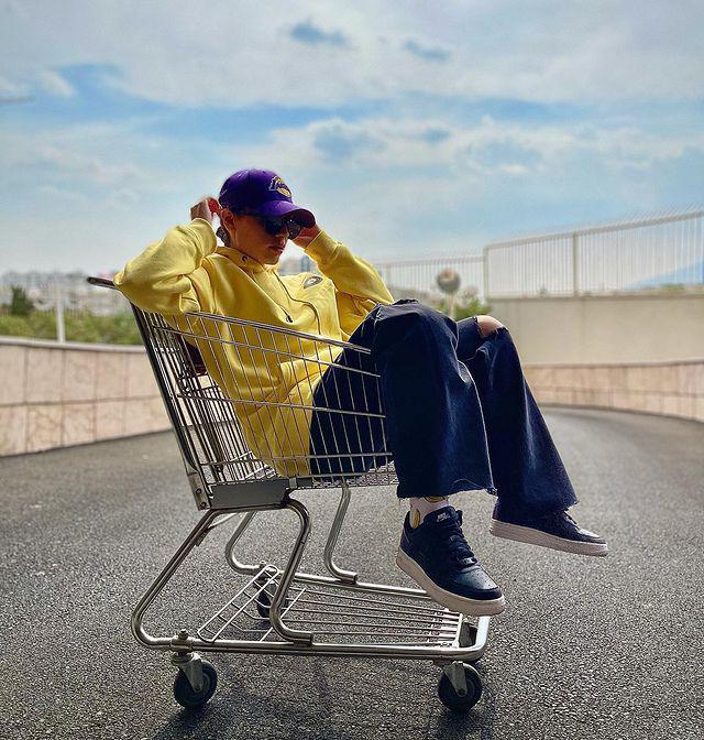 ترلان پروانه در سبد خرید فروشگاه + عکس