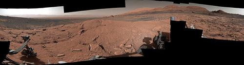 ثبت تصویر پانوراما مریخ توسط «کنجکاوی»