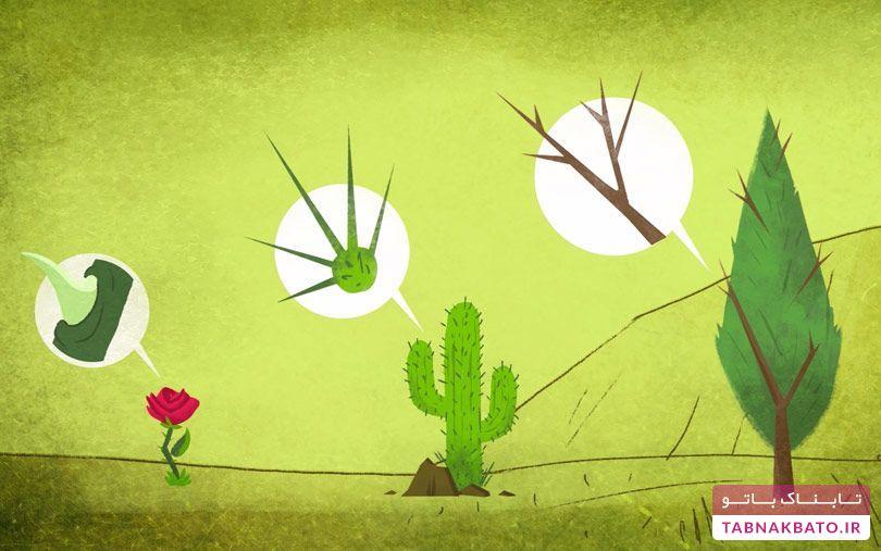 روشهای عجیب و شگقتانگیز گیاهان برای دفاع از خود