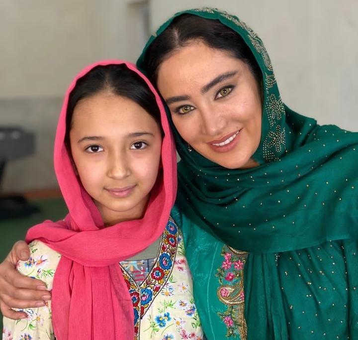بهاره افشاری در لباس محلی افغانی + عکس