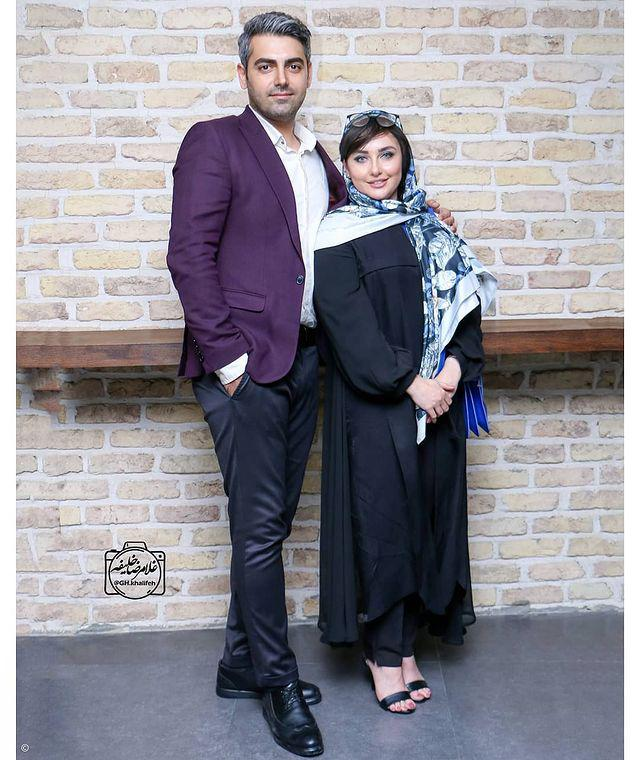 جواد جوادی «بچه مهندس» در کنار همسرش + عکس