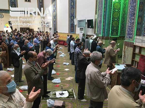 اقامه نماز عید فطر در تهران با رعایت پروتکل