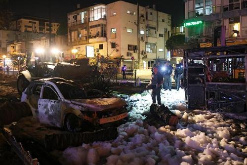 جنگ موشکی اسراییل و مقاومت فلسطین