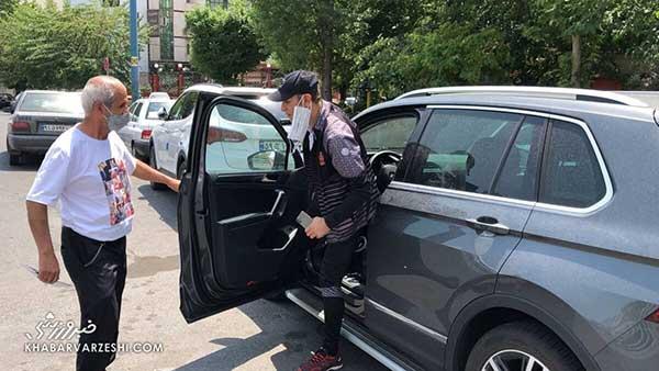 یحیی گلمحمدی از ماشین جدیدش رونمایی کرد