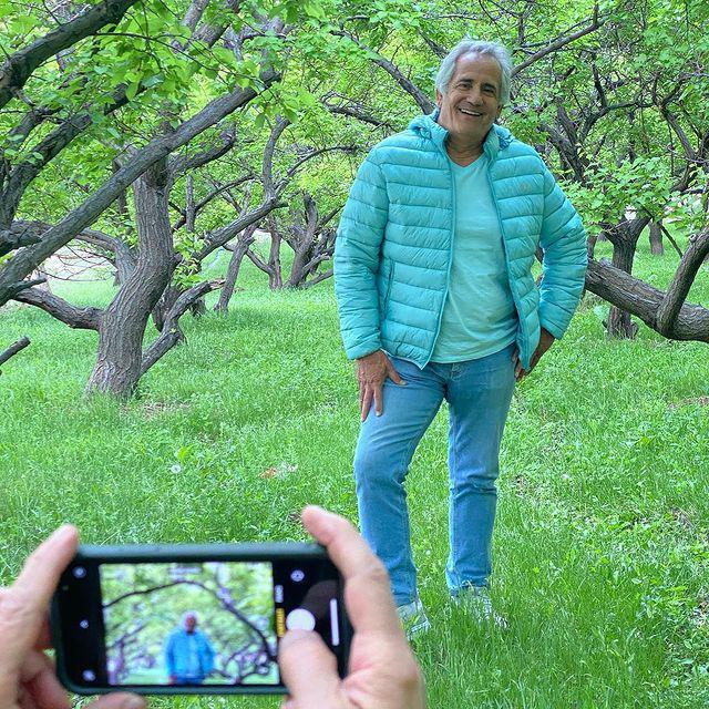 مجید مظفری در دامان طبیعت + عکس