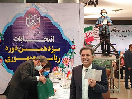 آخوندی در انتخابات ریاستجمهوری ثبتنام کرد