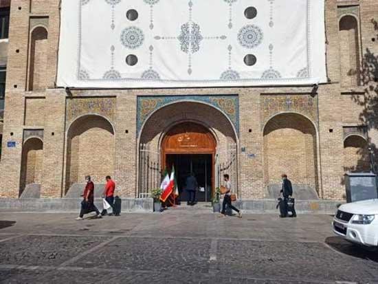 بازگشایی قدیمیترین درب کاخ گلستان