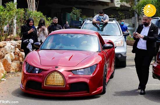 تصاویرِ رونمایی از اولین خودروی برقی در لبنان