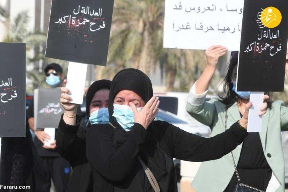 اعتراضات بی سابقه زنان در کویت + عکس