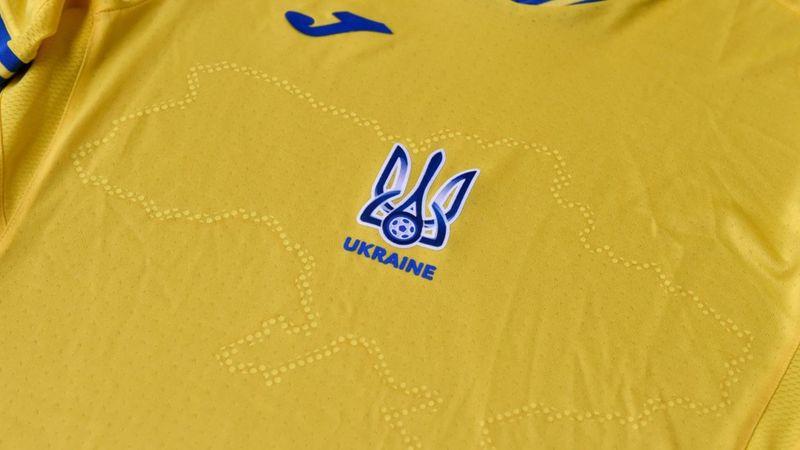 اعتراض روسیه به لباس تیم فوتبال اوکراین برای مسابقات یورو