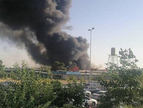 اعلام منشا دود غلیظ در غرب تهران