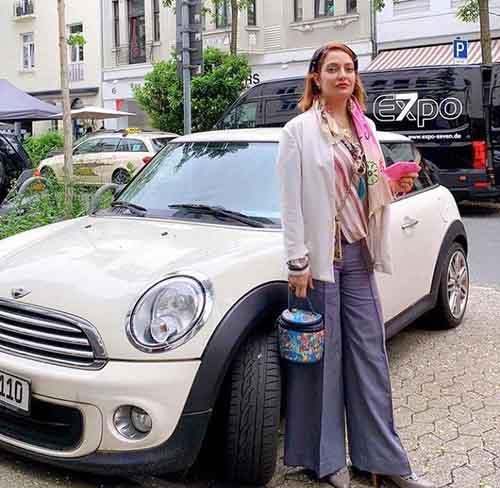 ماشین میلیاردی مهناز افشار + عکس