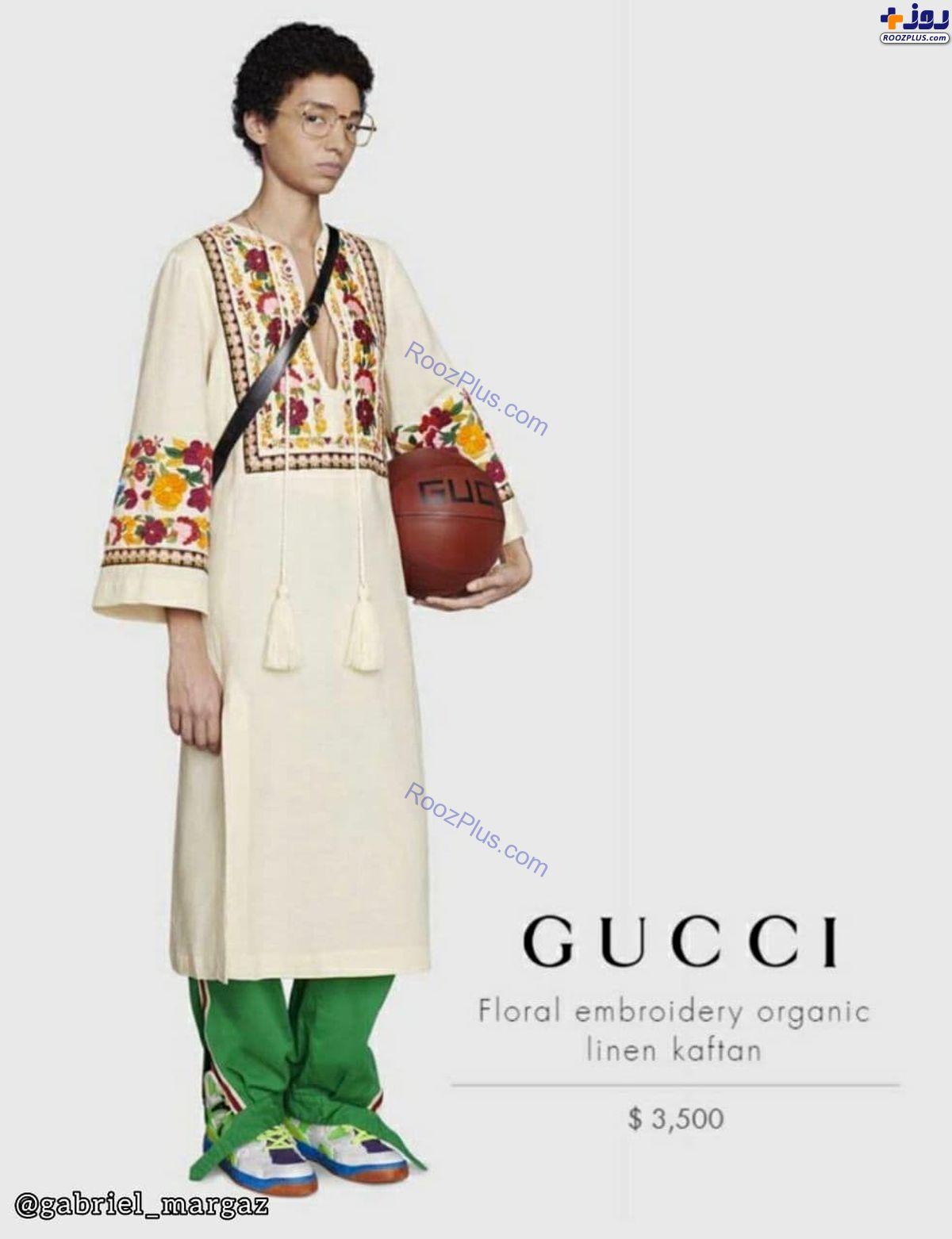 جنجال لباس جدید برند گوچی در هند +عکس