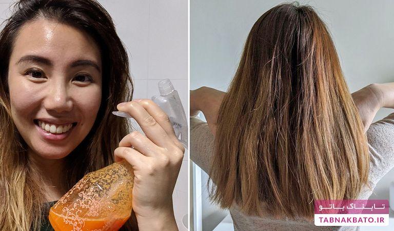 هویج مخلوطی جادویی و آسان برای زیبایی موها