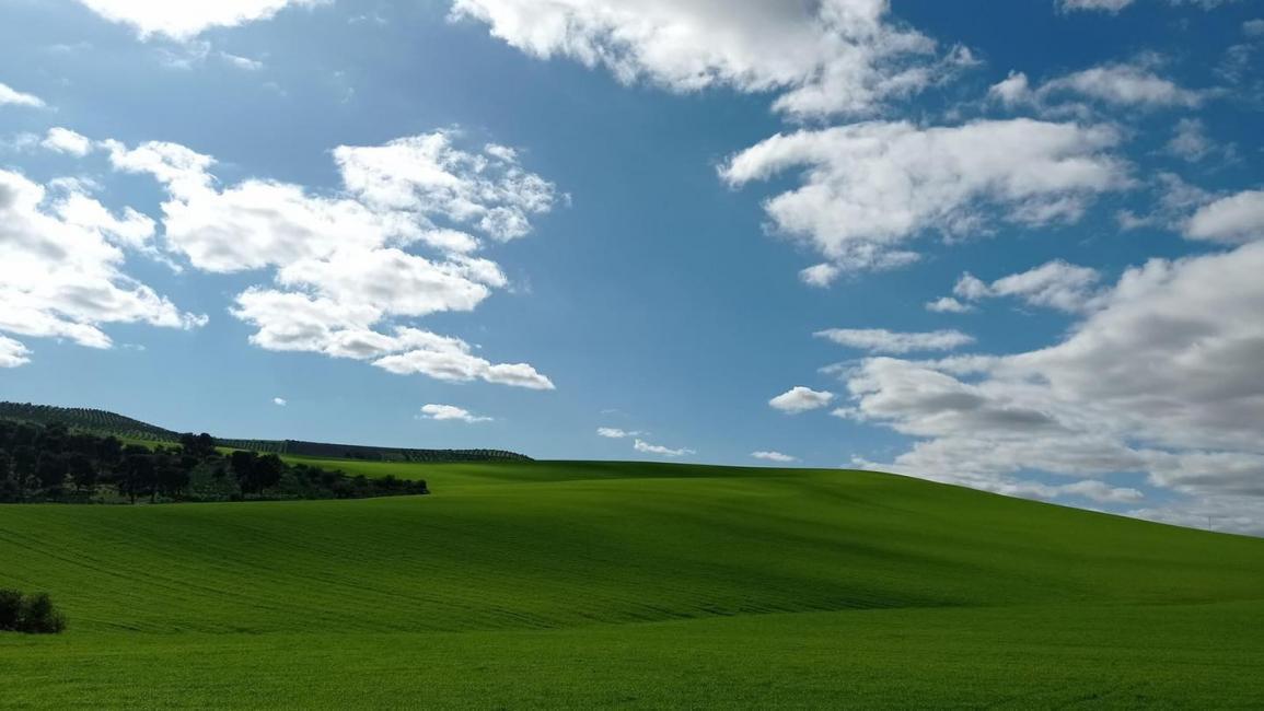 پس زمینه واقعی ویندوز XP در مراکش +عکس دیدنی