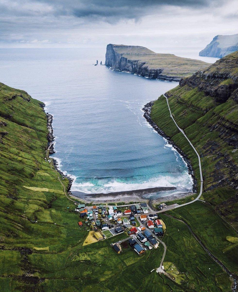 جزیره ای فوق العاده زیبا در دانمارک با جمعیت ۴۸ نفر + عکس