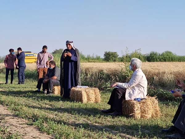 حضور سعید جلیلی در روستای عشق آباد ورامین