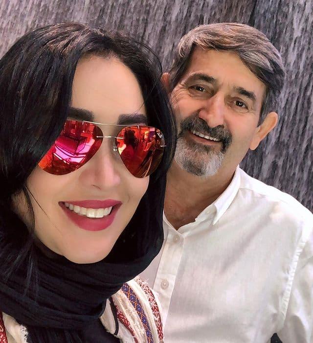 سارا منجزی پور عزادار شد + عکس