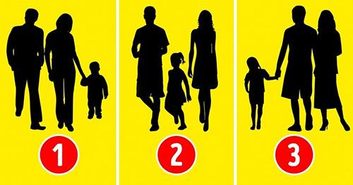 تست شخصیت؛ کدام خانواده واقعی نیستند؟