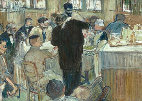 نقاشی تولوز لوترک از صحنه عمل جراحی، حراج شد