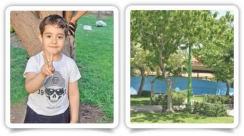 بازی مرگبار امیرعلی شش ساله در پارک
