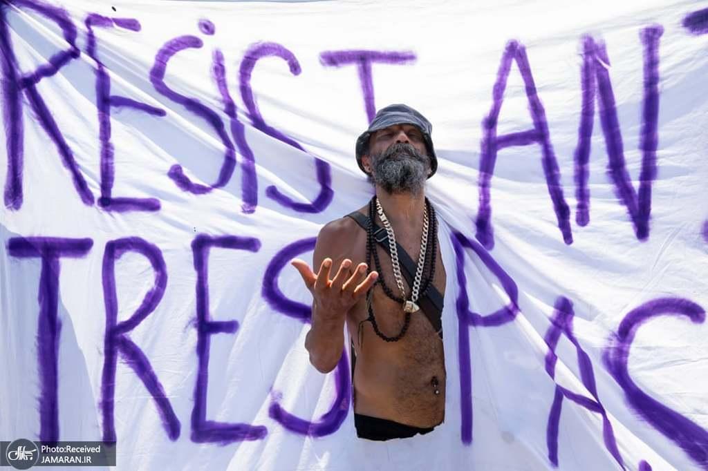 اعتراضات به اجلاس گروه هفت در فالموث، انگلستان + عکس