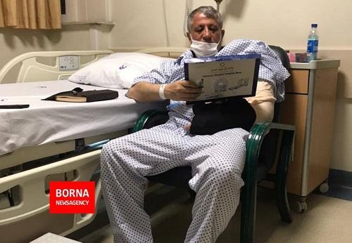 محسن هاشمی بر اثر سانحه راهی بیمارستان شد