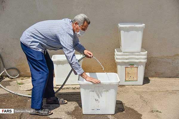 تصویری از صندوقهای رای که پربازدید شد