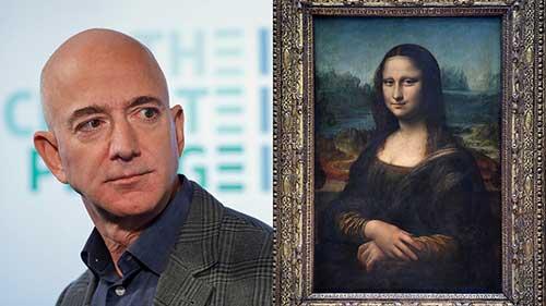 آقای جف بزوس! تابلو مونالیزا را بخر و بخور